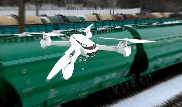 «Укрзалізниця» представила проект по охране железных дорог дронами