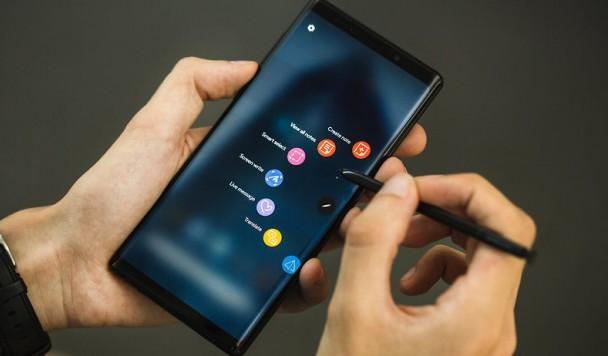 Стилус Samsung S-Pen обзаведется собственной камерой
