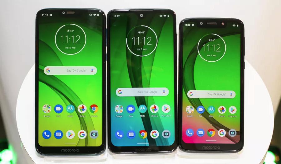 Чем отличаются друг от друга Motorola Moto G7, G7 Play, G7 Power и G7 Plus