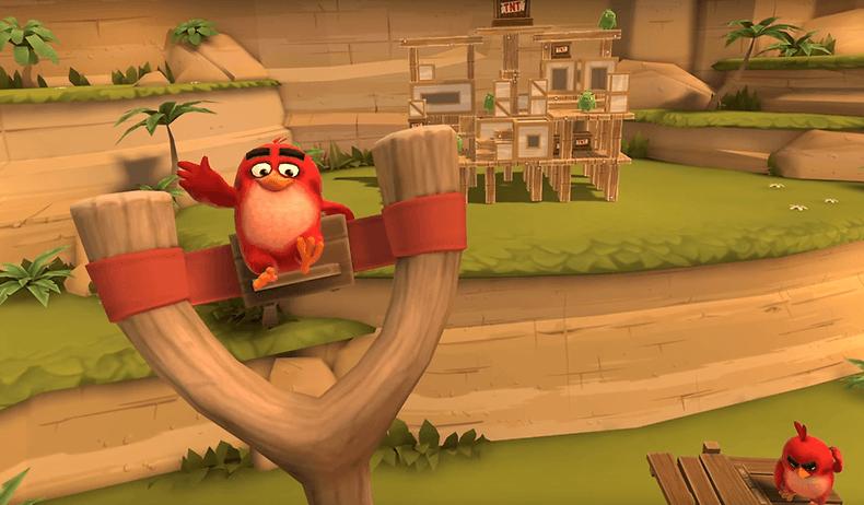 Легендарная игра Angry Birds перебралась в виртуальную реальность