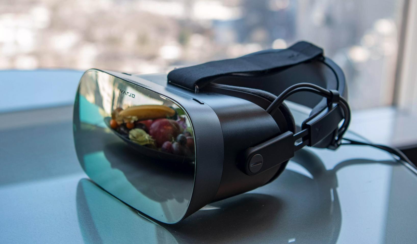 Встречаем Varjo VR-1 - шлем виртуальной реальности, сильно опередивший свое время