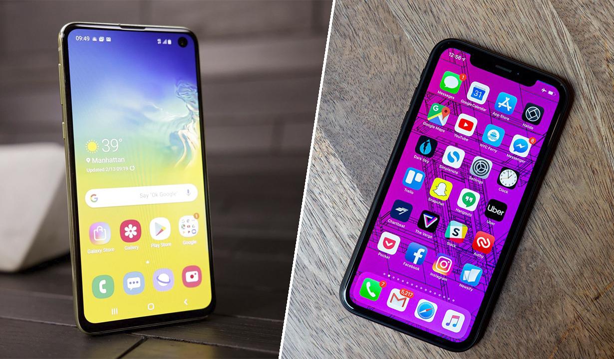 Galaxy S10e против iPhone XR: Сравниваем самые дешевые из флагманов