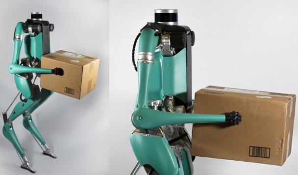 Представлен первый прямоходящий робот с многофункциональными руками