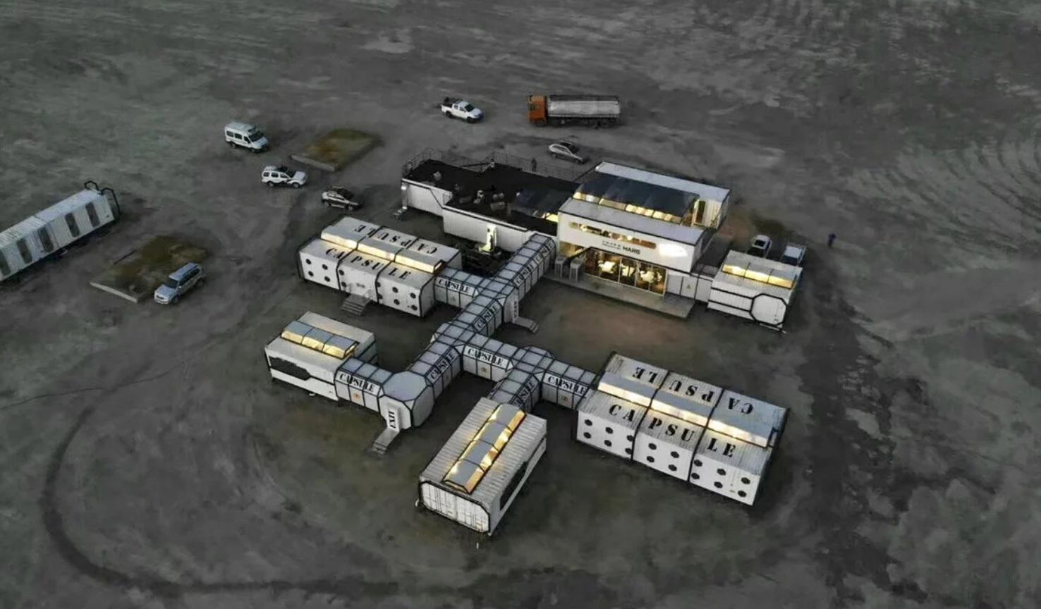Китай открыл лагерь подготовки марсианских колонистов