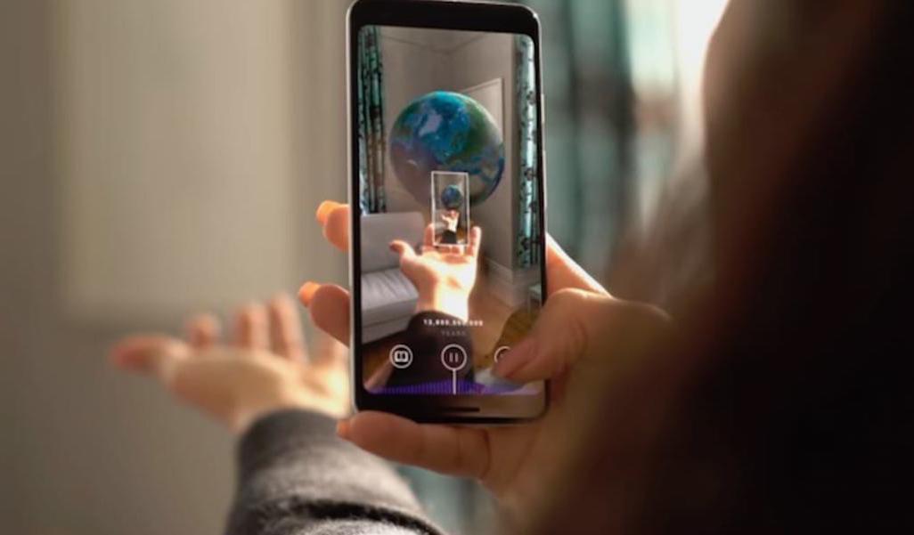 Новое приложение позволяет увидеть историю вселенной в дополненной реальности