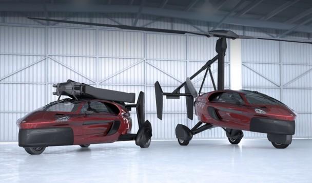 Первый летающий автомобиль официально готов к использованию