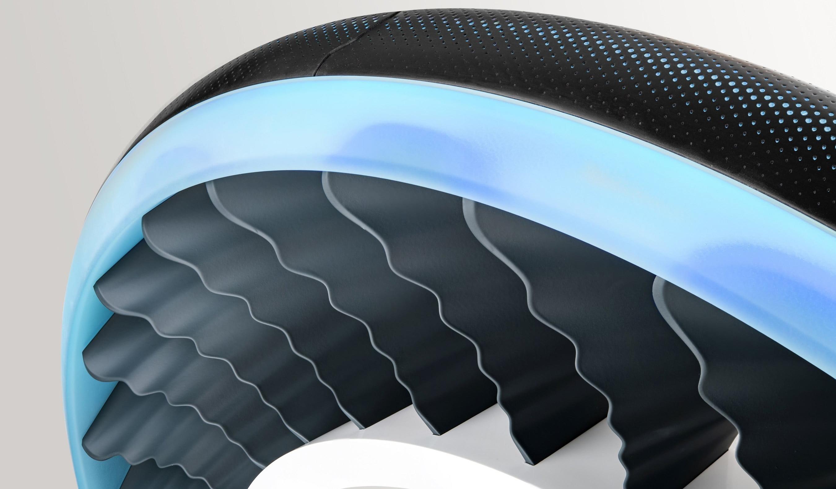 Представлены колеса, выполняющие функцию пропеллеров для летающих автомобилей