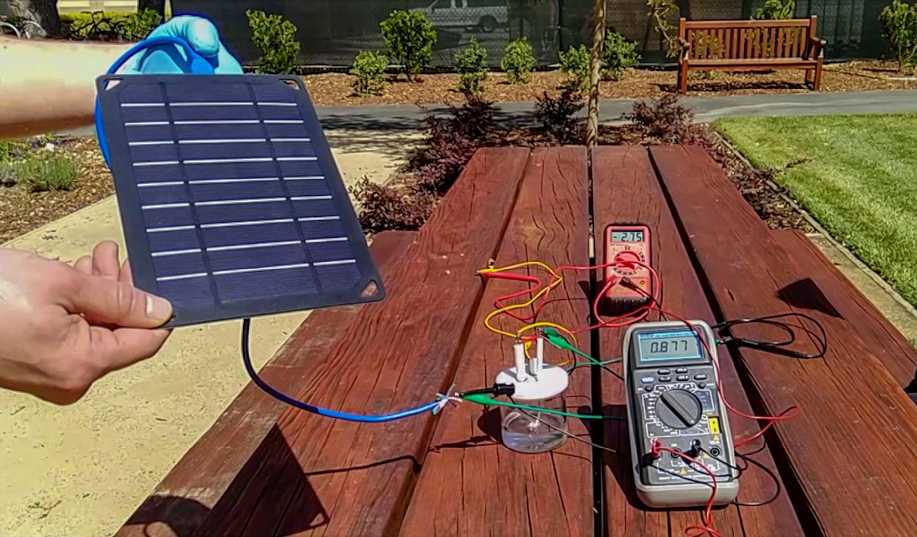 Найден способ превращать соленую воду в дешевое водородное топливо