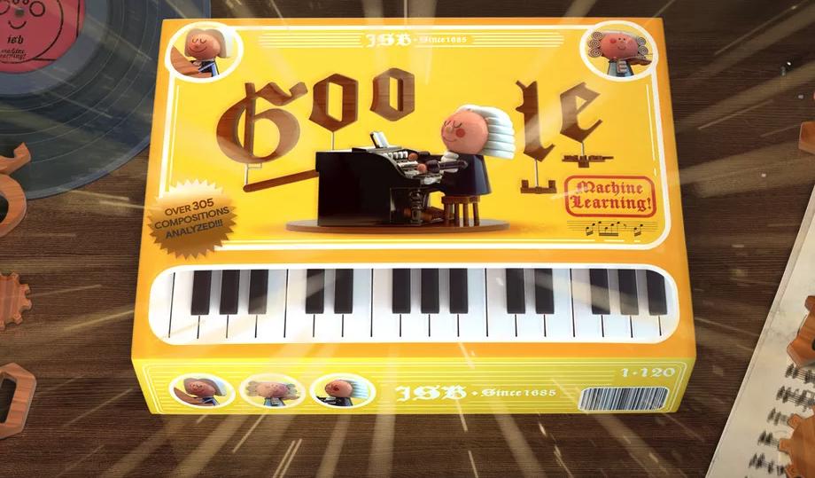 Новый дудл Google использует искусственный интеллект для генерации музыки в стиле Баха
