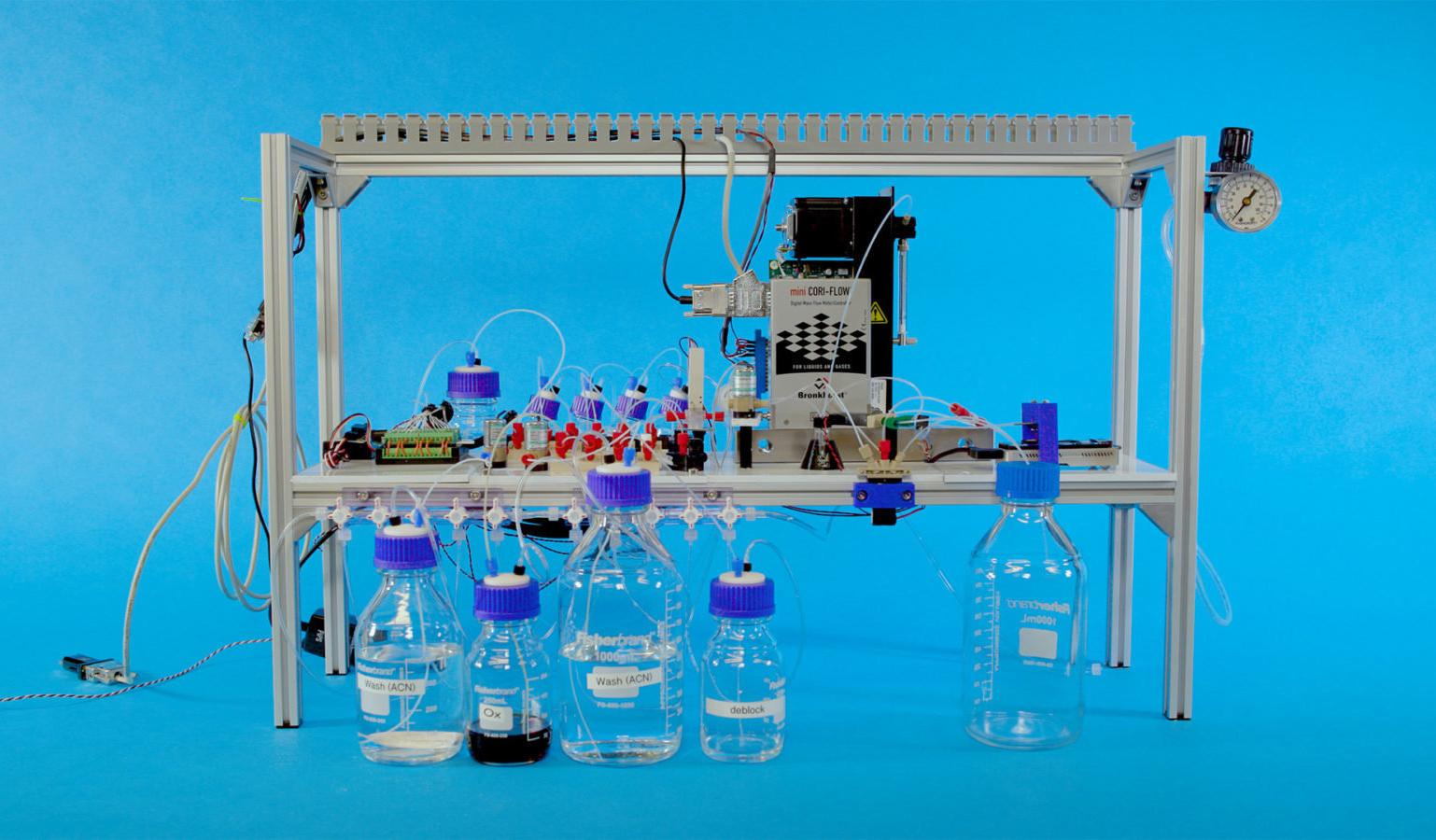 Microsoft разработал устройство для записи данных на ДНК