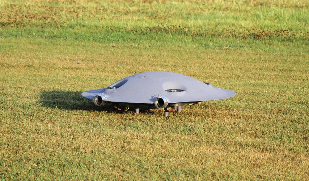 Разработана сверхманевренная турбореактивная летающая тарелка