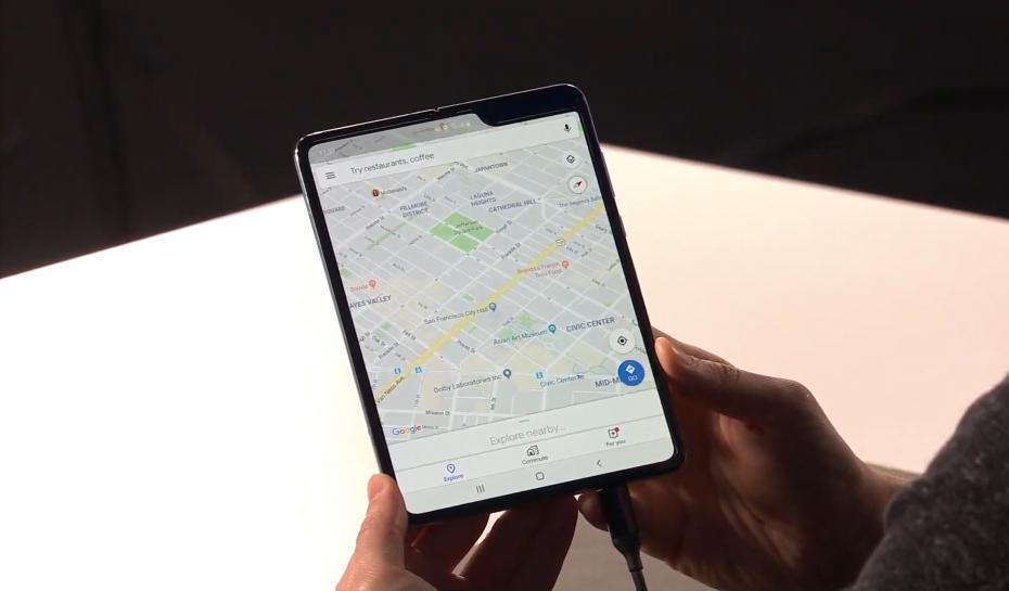 Складной смартфон Samsung Galaxy Fold имеет ряд серьезных проблем