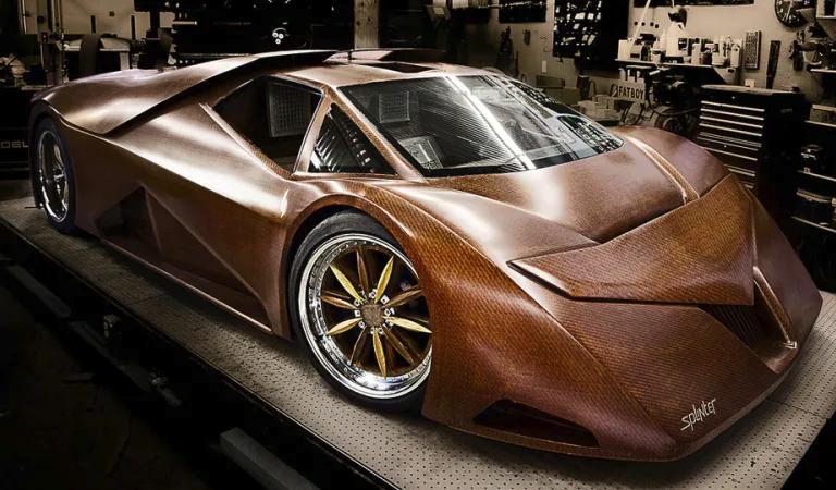 """Новое """"металлическое дерево"""" позволит создавать ультралегкие автомобили"""