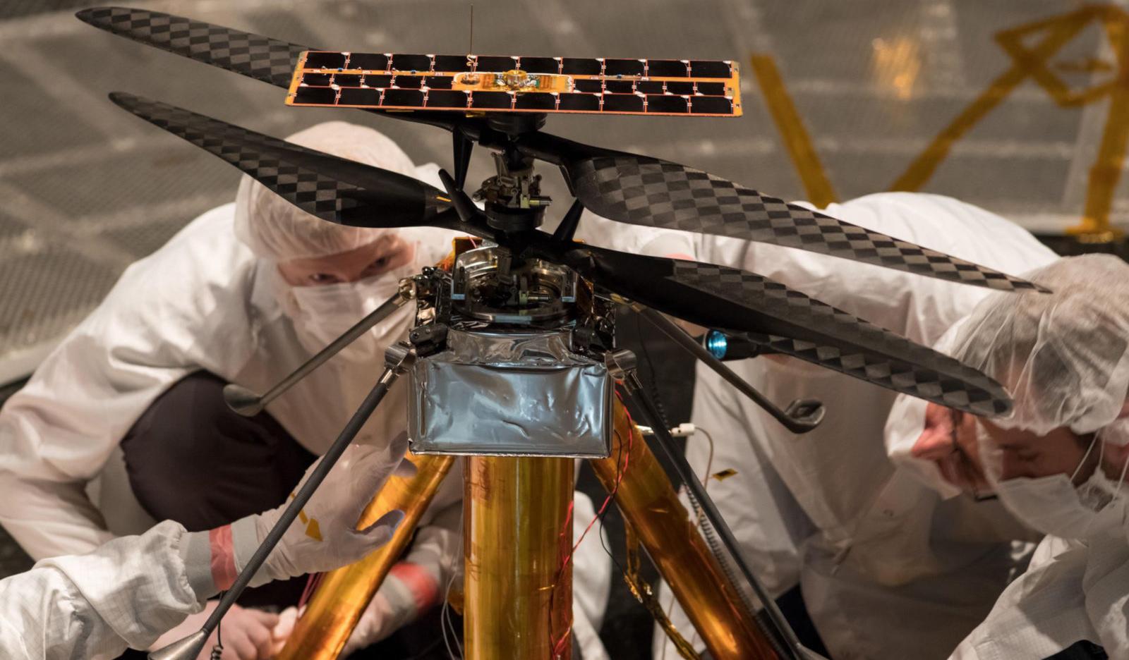 В NASA разработан вертолет для полетов в разреженной атмосфере Марса