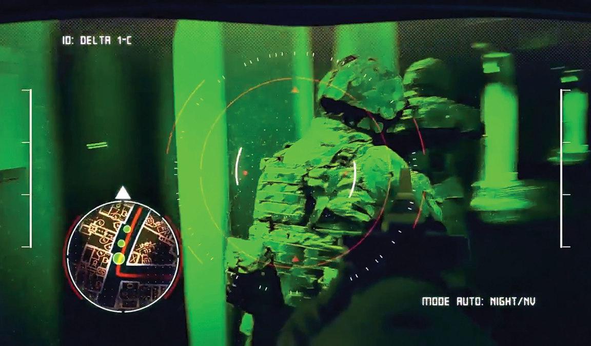 Microsoft разрабатывает для военных очки дополненной реальности с режимом ночного видения