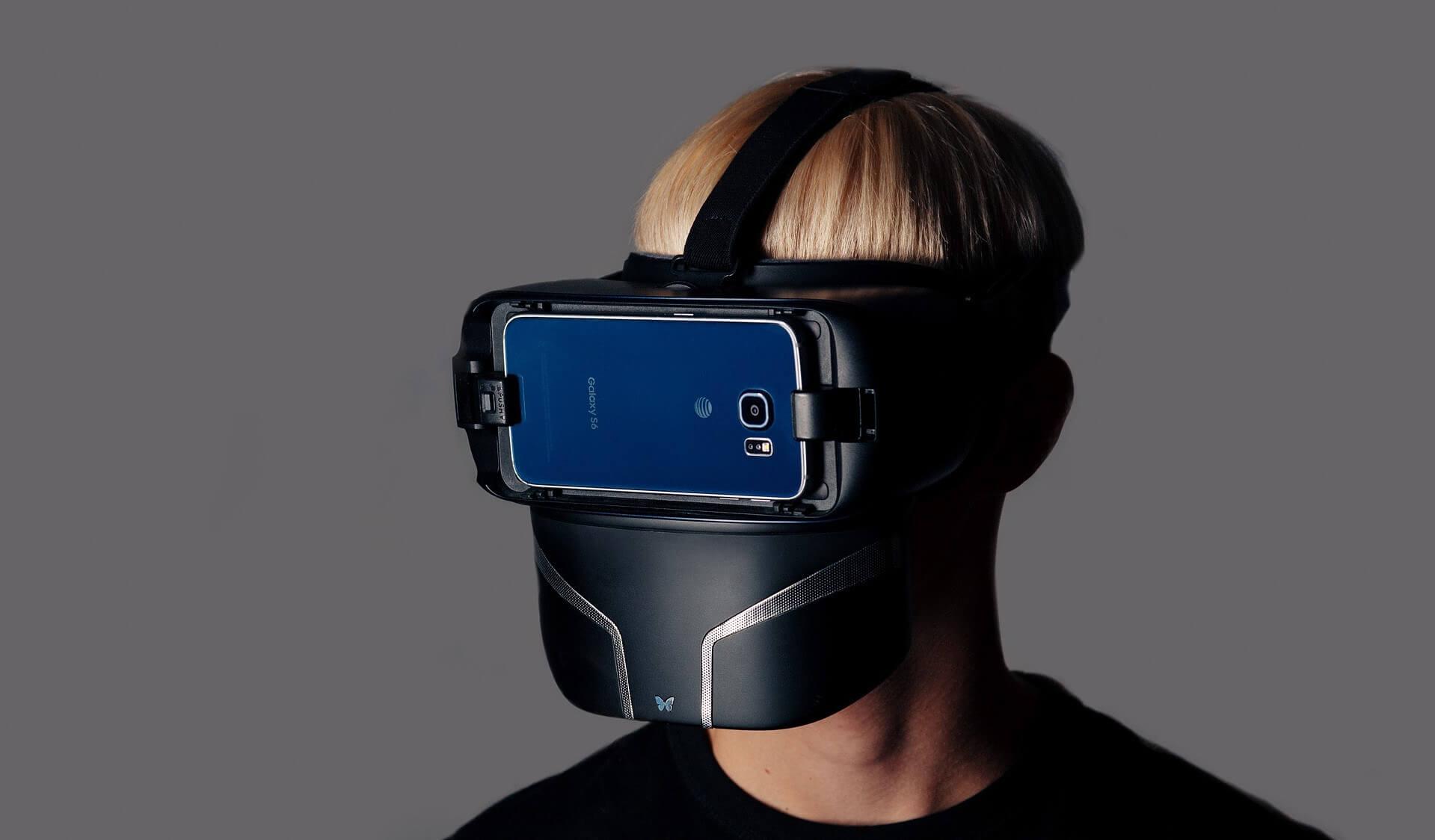 Маска виртуальной реальности позволит вам чувствовать запахи и дуновения ветра