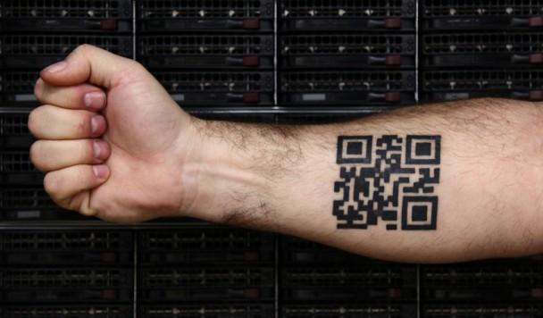 Почему татуировка с QR-кодом - очень плохая идея