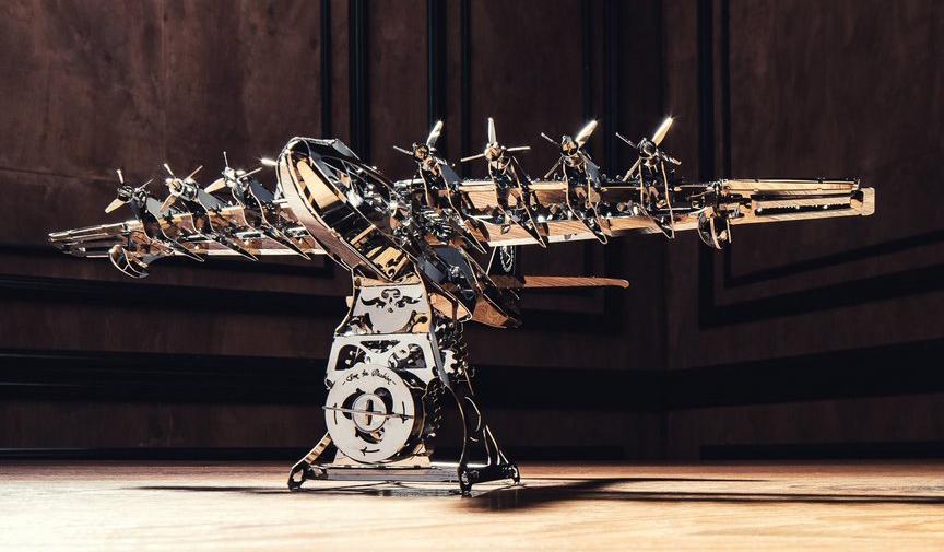 Украинские металлические 3D-пазлы собрали более $200 тыс. на Kickstarter