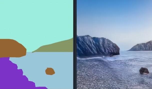 Искусственный интеллект научился превращать схематические рисунки в натуралистичные пейзажи