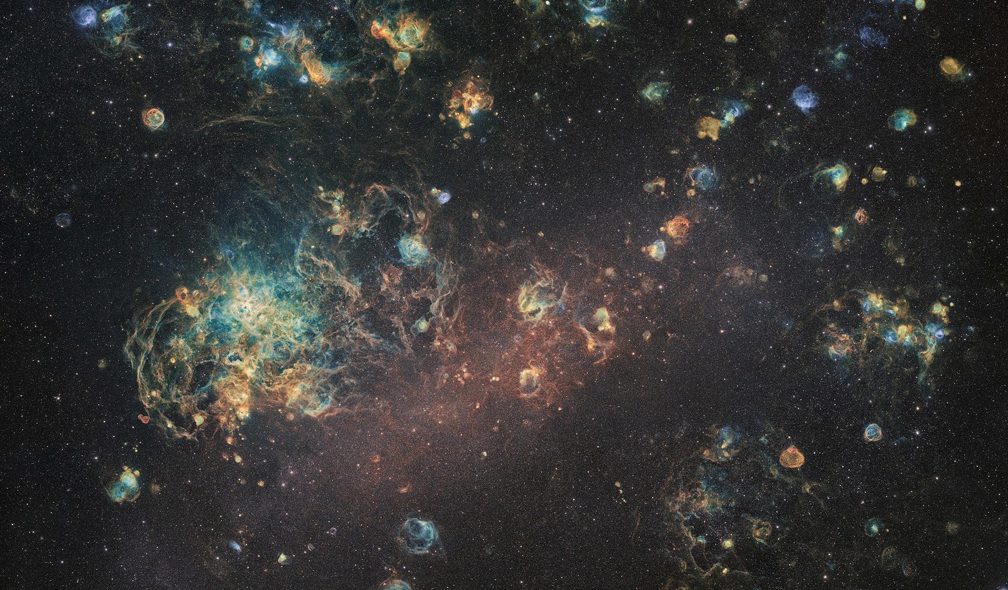 Астрономам-любителям удалось сделать невероятно детализированный снимок чужой галактики