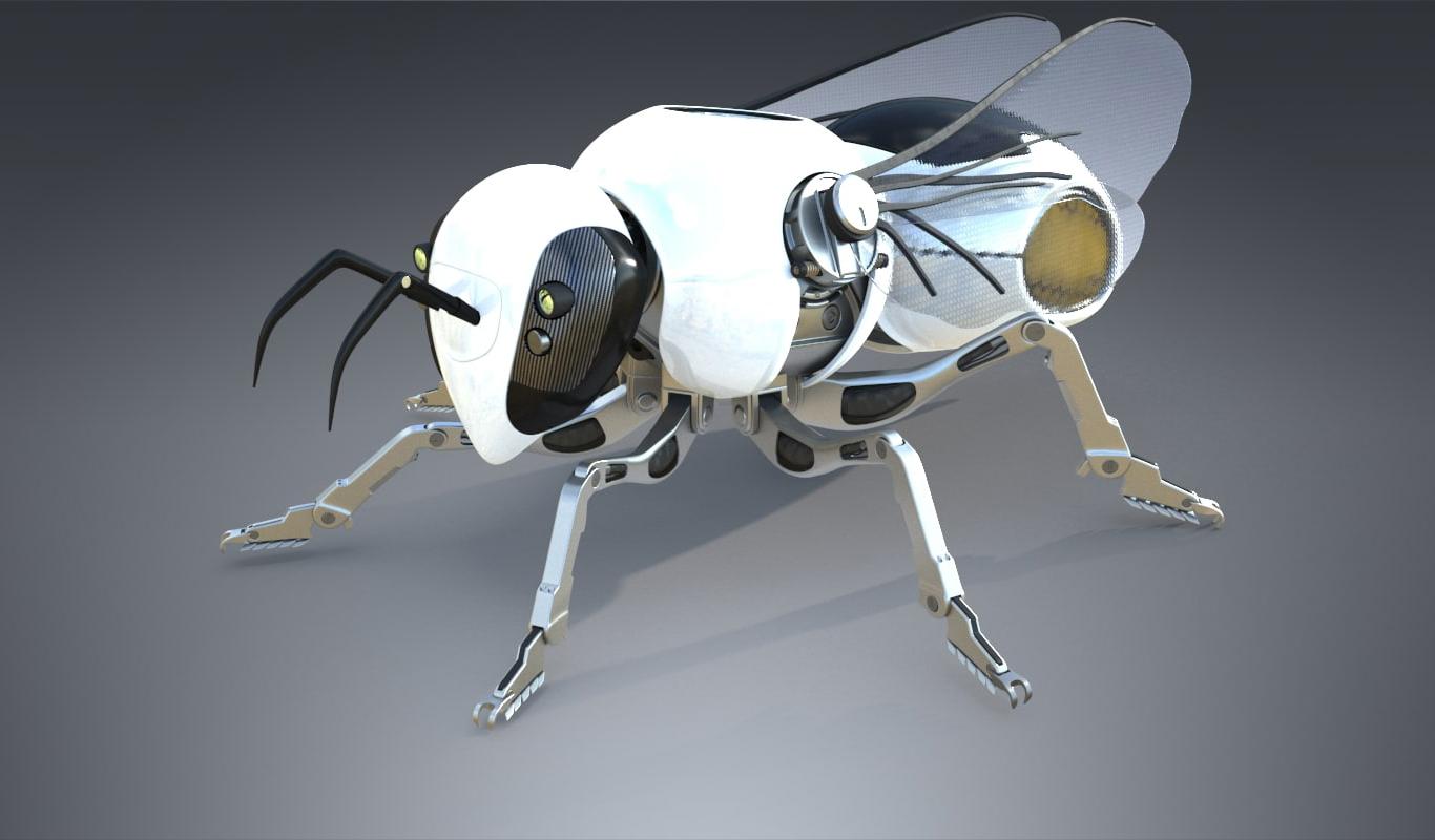Разработан крошечный летающий робот-насекомое размером с монетку