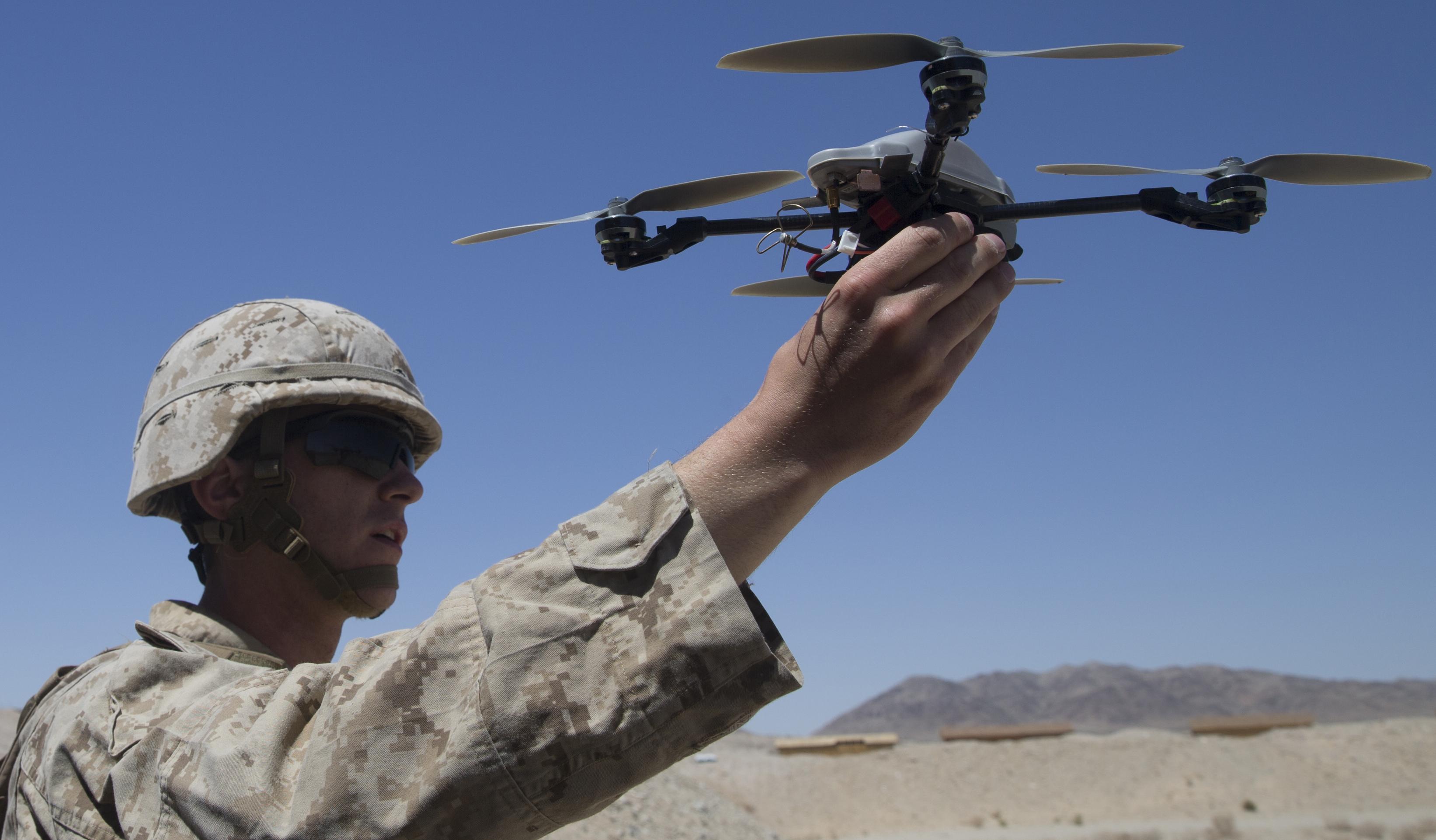 Солдаты смогут контролировать боевые беспилотники силой мысли