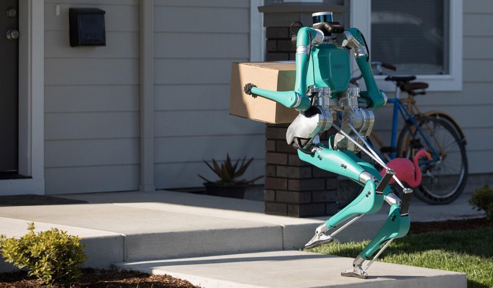 Гуманоидные роботы-почтальоны будут лично вручать посылки получателям