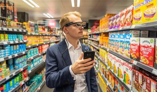 Использование смартфона в супермаркете увеличивает шанс импульсивных покупок