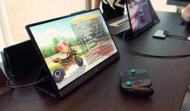 ASUS представила первый портативный монитор с частотой 240 Гц