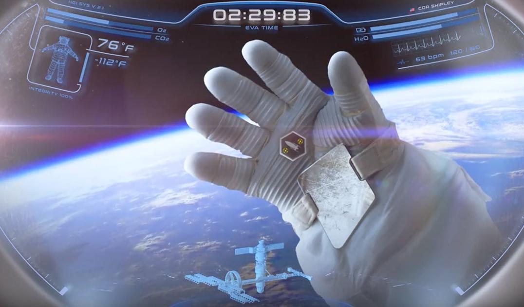 """Создан шлем космонавта с искусственным интеллектом и интерфейсом как у """"Железного человека"""""""