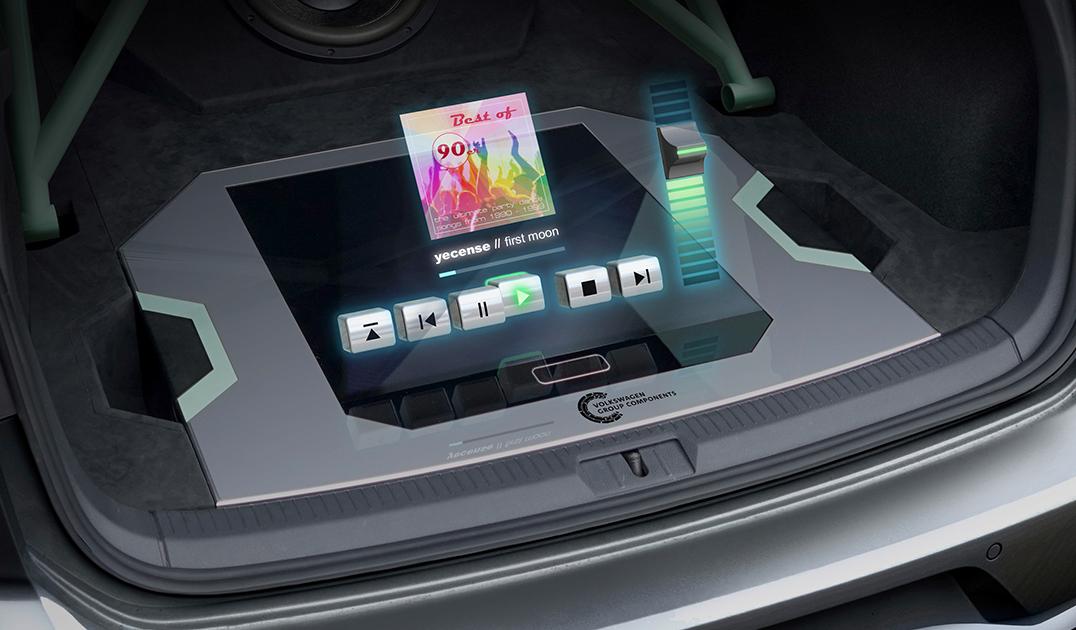 Volkswagen представил автомобиль с голографическим интерфейсом