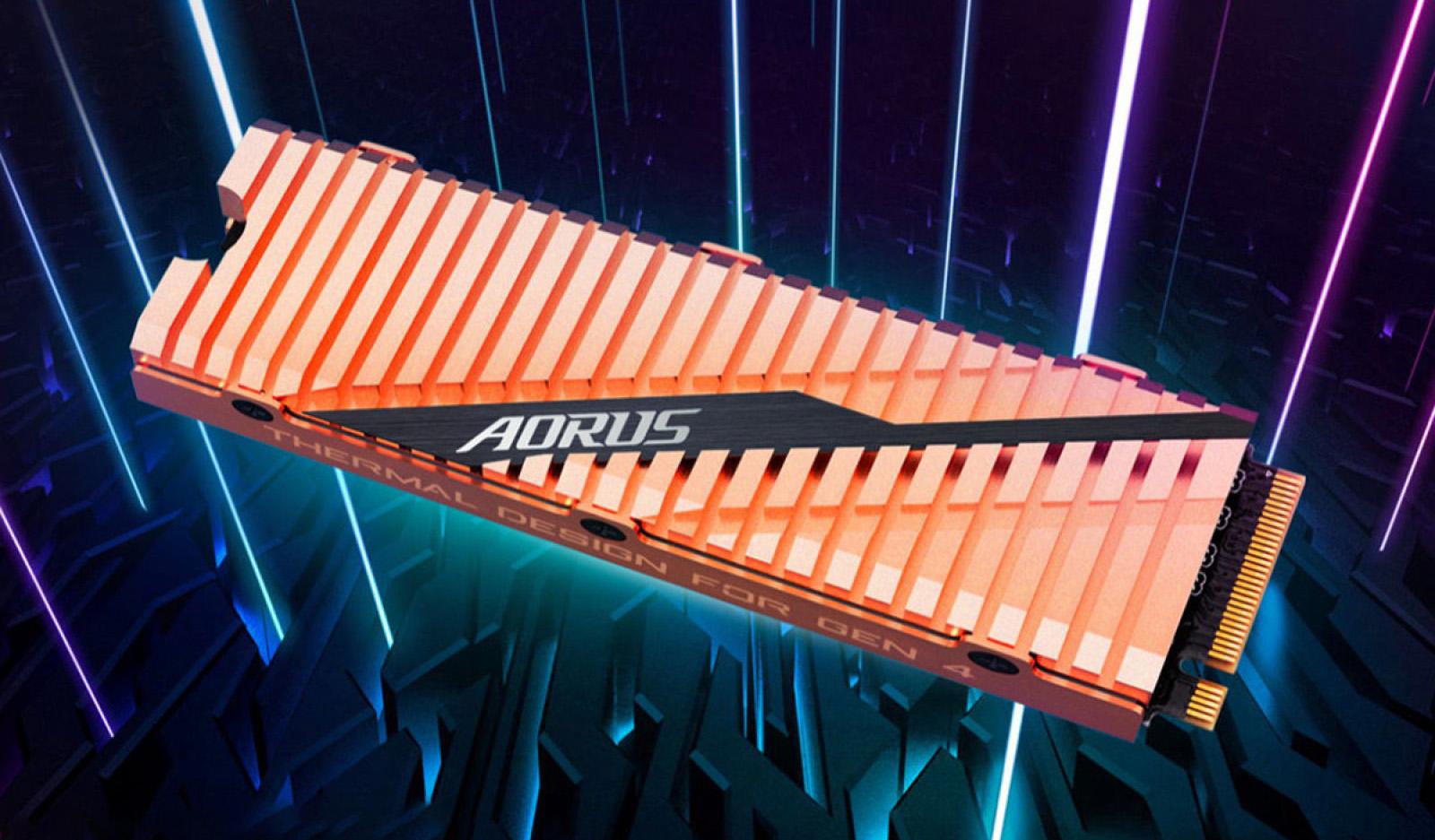 Компания Gigabyte представила самый быстрый в мире твердотельный накопитель