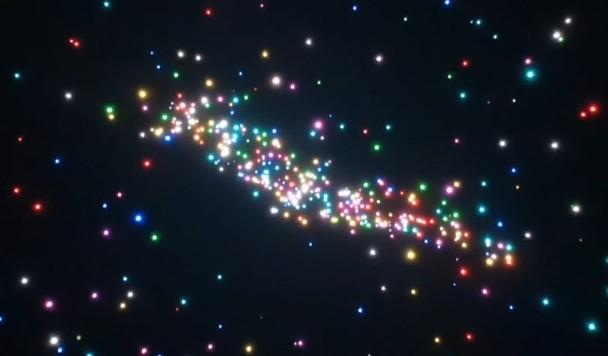 В Китае сотни светящихся дронов устроили невероятное небесное шоу