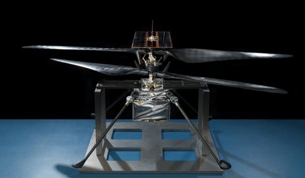 Ученые приступили к завершающей фазе тестирования марсианского вертолета