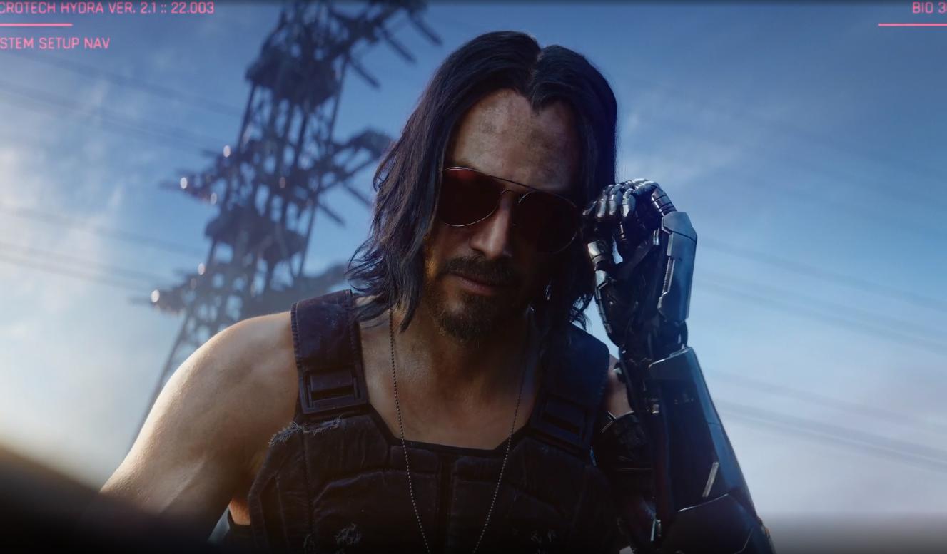 Киану Ривз и не только. На что стоит обратить внимание в трейлере Cyberpunk 2077