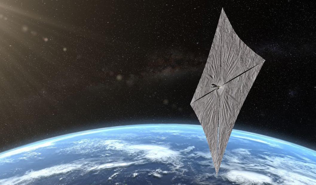 Илон Маск отправит в космос огромный солнечный парус