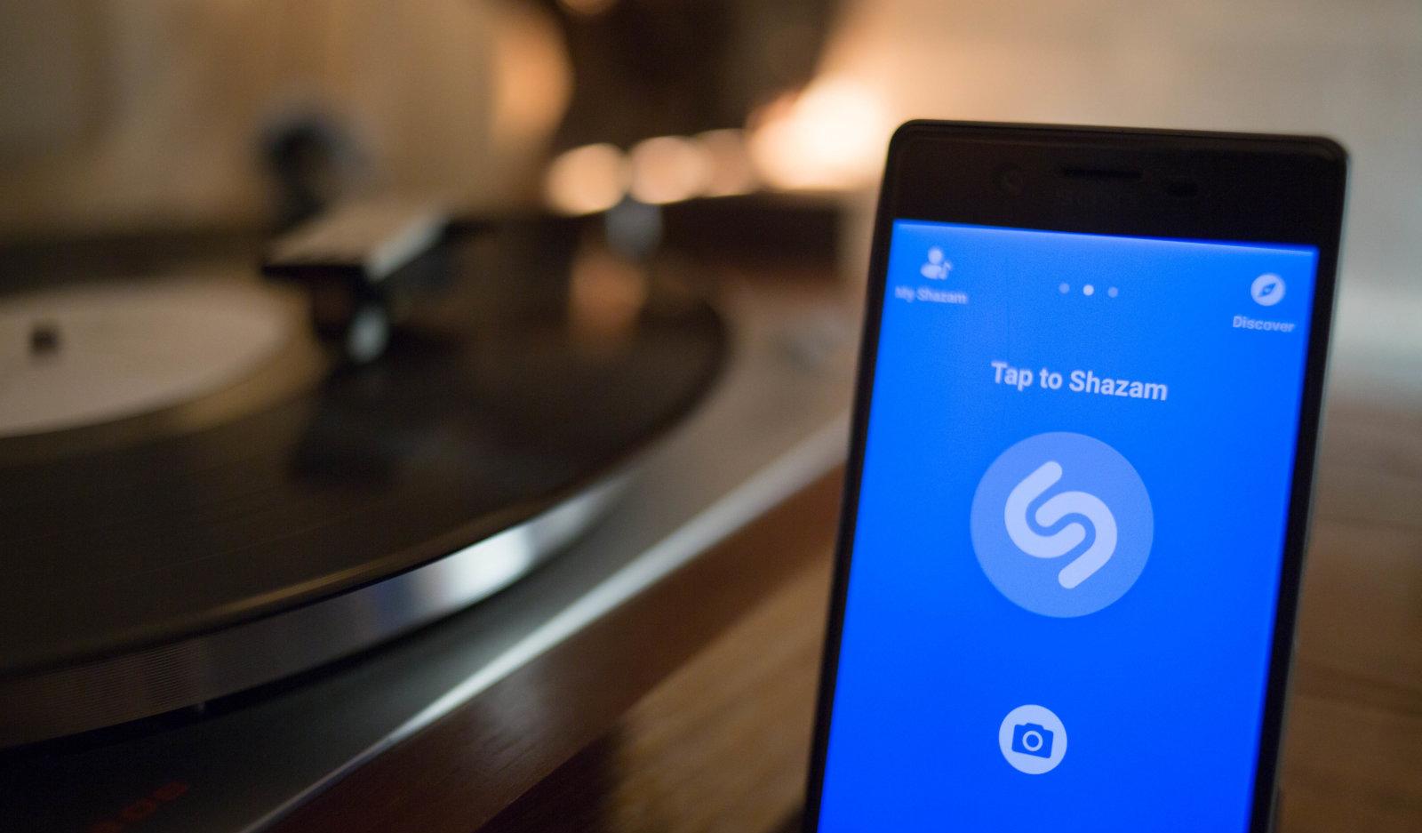 Shazam научился распознавать музыку, которая звучит в других приложениях