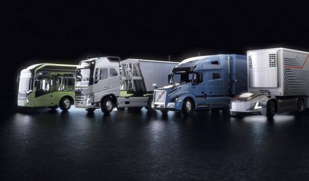 Беспилотные автобусы и грузовики Volvo будут ездить под управлением NVIDIA