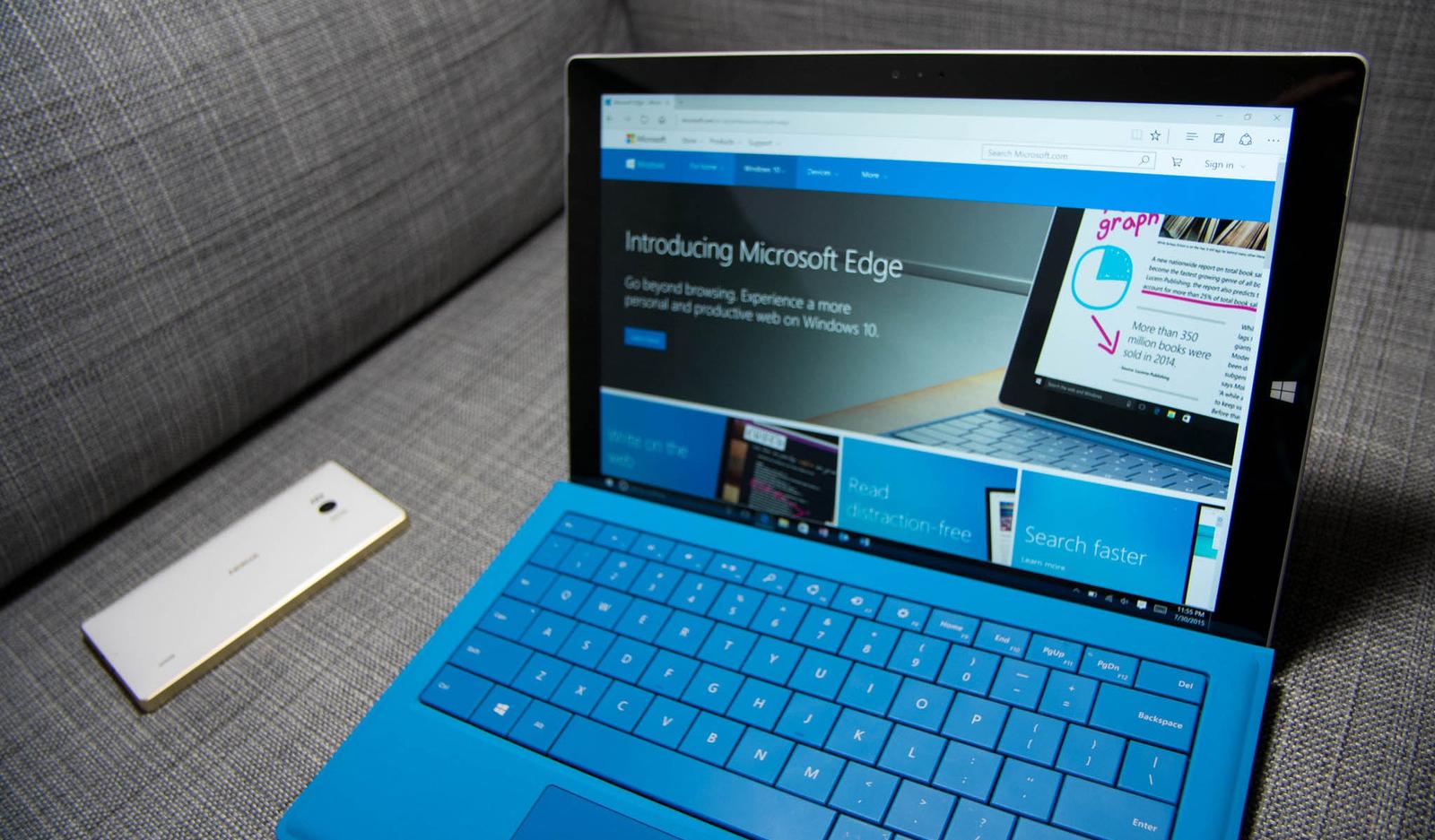 Теперь браузером Microsoft Edge можно пользоваться на Windows 7 и 8