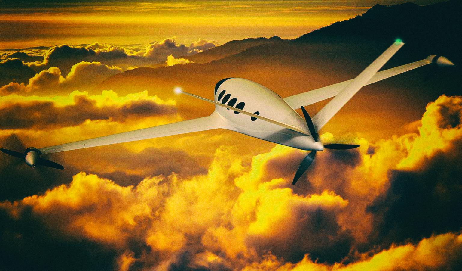 Разработан высокоэффективный электрический самолет