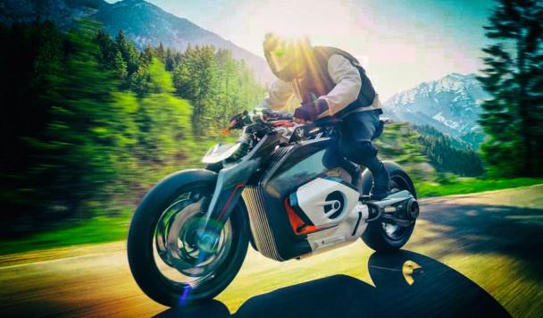 BMW представила концепт футуристического электромотоцикла