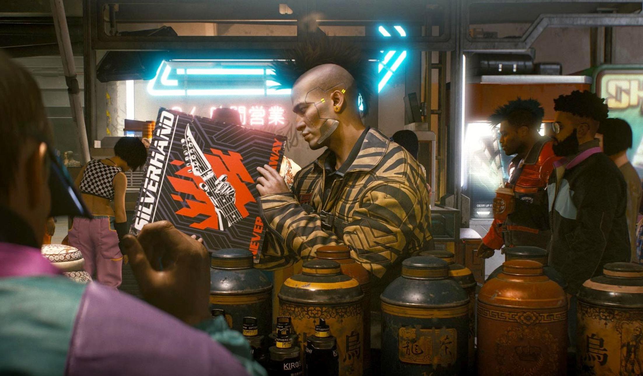 Саундтрек для Cyberpunk 2077 записывает легендарная панк-рок группа