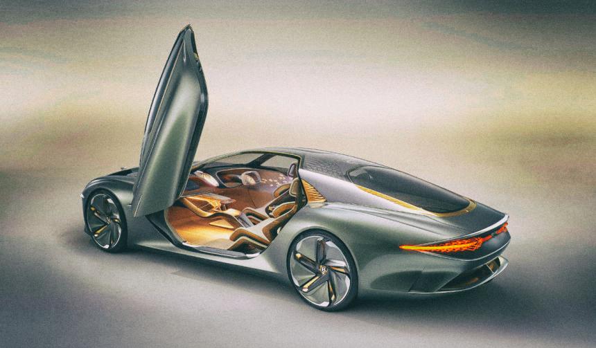 Bentley представила свой самый футуристический концепт-кар