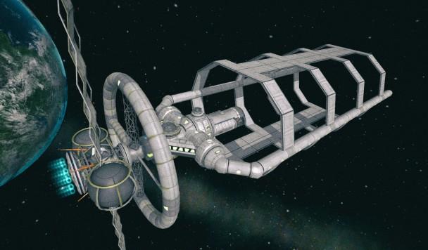 NASA хочет печатать гигантские корабли прямо в космосе