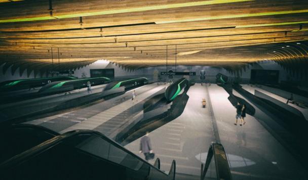 Взгляд в будущее: Как будут выглядеть станции Hyperloop