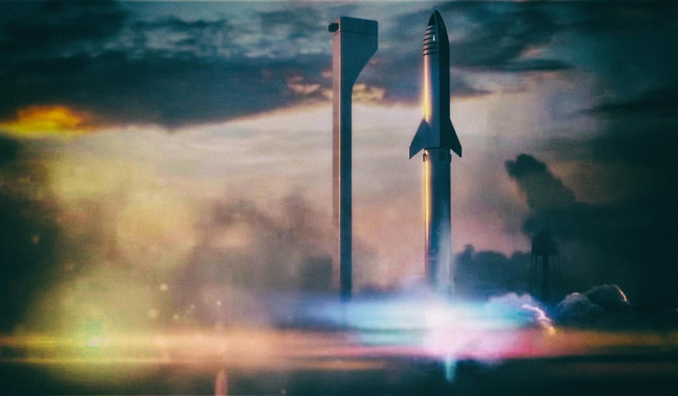 Ракета Илона Маска для полета на Марс будет иметь 41 двигатель