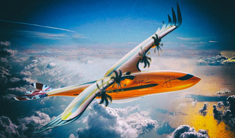 Airbus представил концепт самолета, вдохновленный хищными птицами
