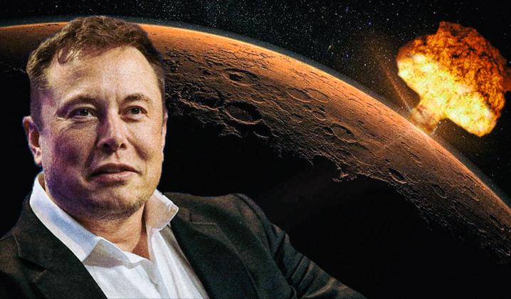 Зачем Илон Маск хочет ударить по Марсу ядерной боеголовкой?