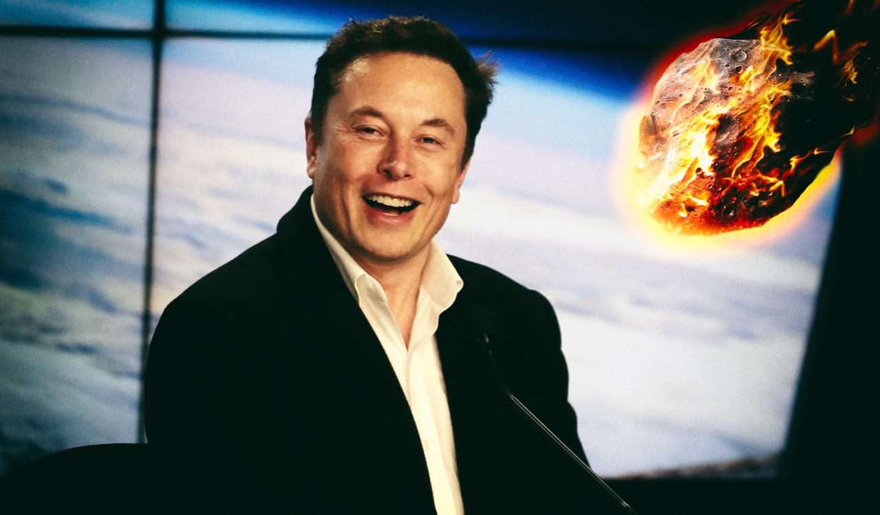 """Илон Маск: """"В конце концов, на Землю упадет большой астероид"""""""