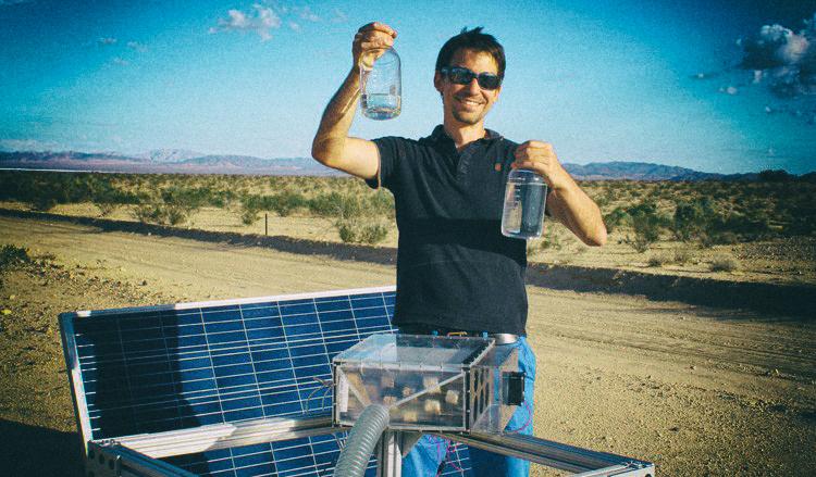Разработана технология извлечения воды из самого сухого воздуха